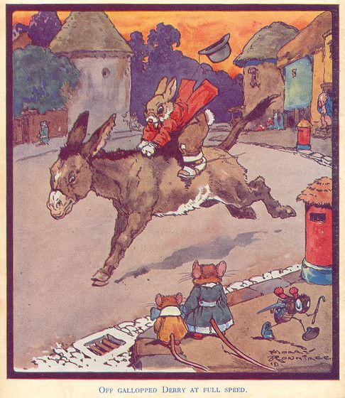 Illustration by Harry Rountree, from ''Nursery Stories'' (Playtime Story Books) by Enid Blyton