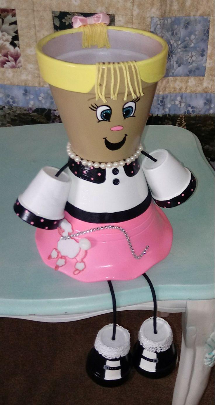 My poodle skirt girl