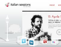 Italian sessions site, ipad, social network