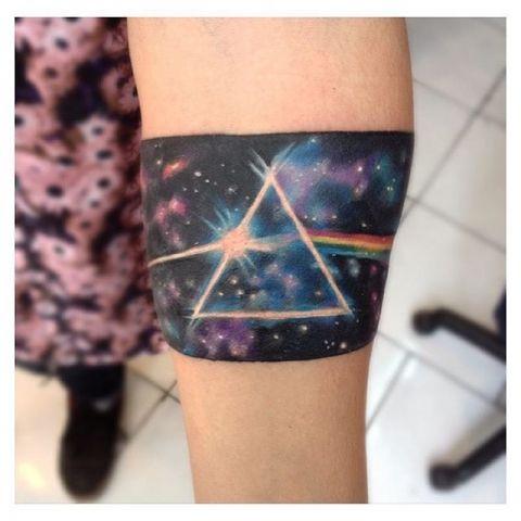 Pink Floyd Wrist Tattoos