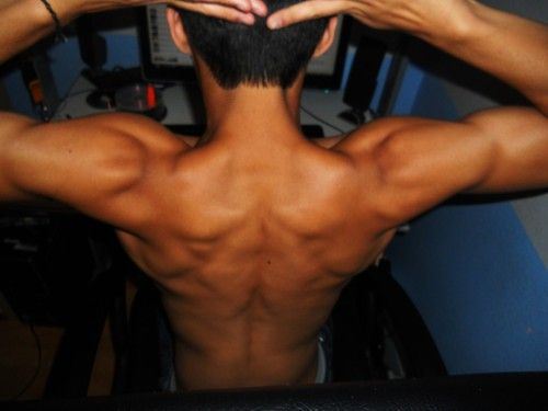 no words necessary. that's a nice back!
