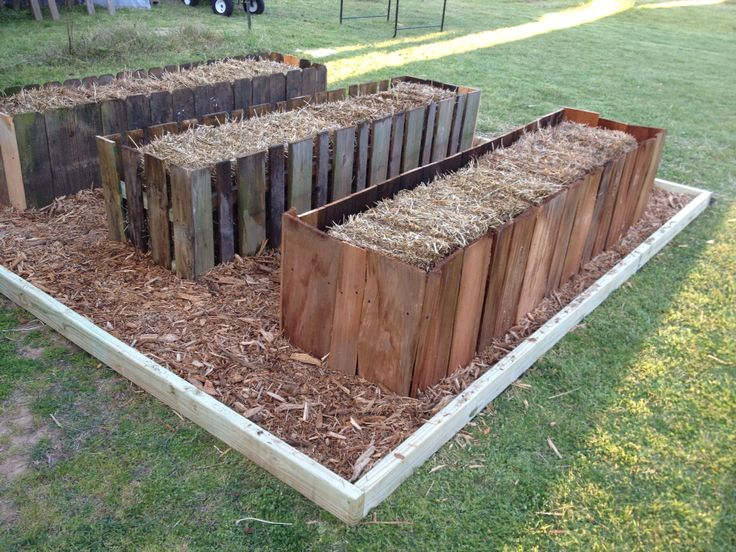 Trying straw bale garden this year. Built some pretty frames around them using salvaged privacy fence and cedar shingles. One cup fertilizer per bale each day for ten days and water daily. Then add plants!