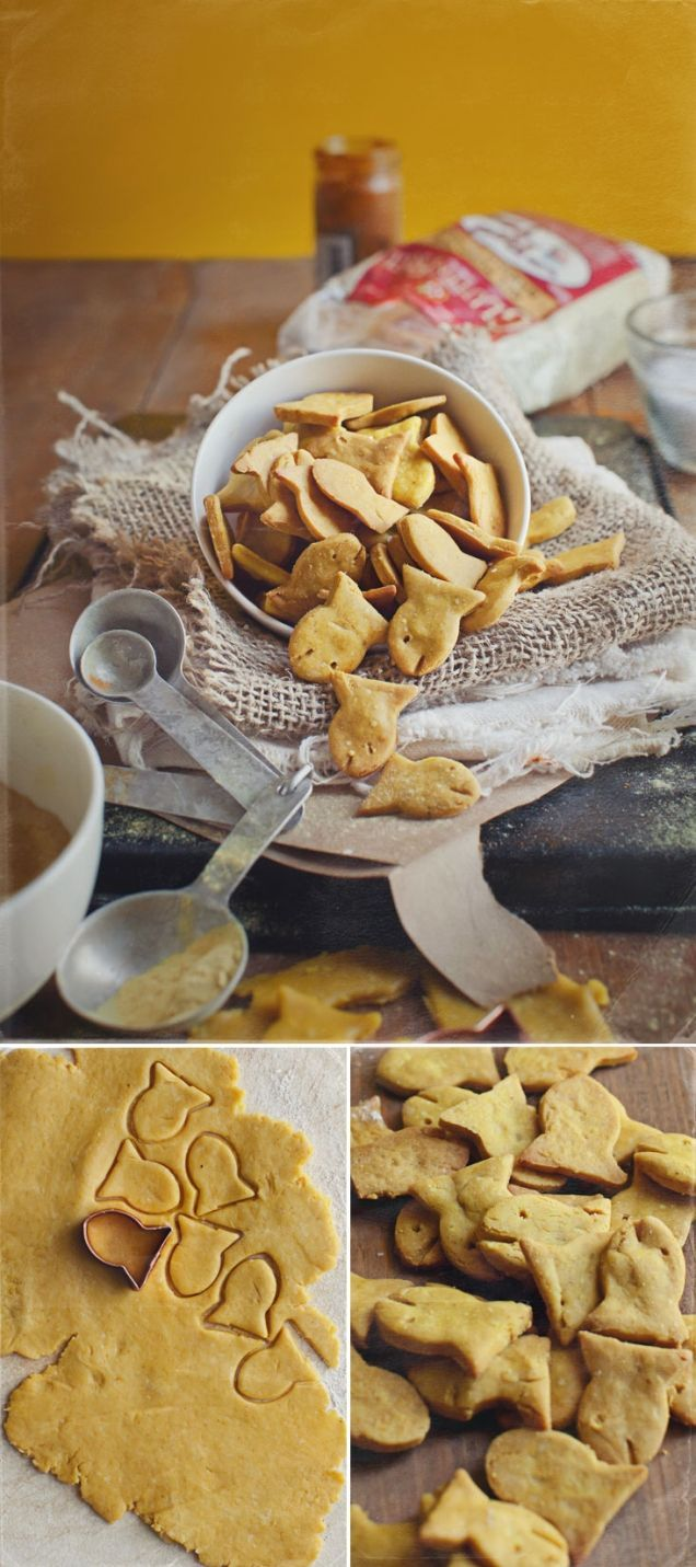 These homemade goldfish are gluten free, simple, and super cute.