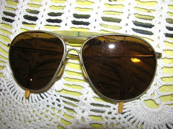df78004e3d Vintage Aviator Sunglasses In Case Art Craft by TeaRoseCottage2 ...
