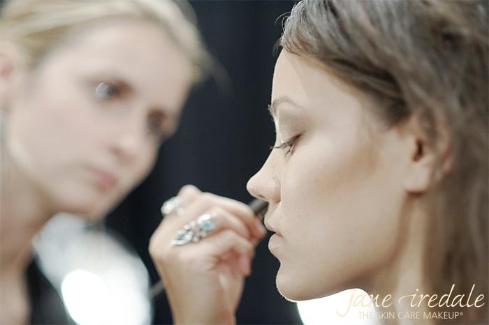 New York Fashion Week Jane Iredale 2012