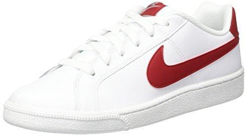 Oferta: 54.55€. Comprar Ofertas de Nike Court Royale, Zapatillas para Hombre, Blanco (White/Gym Red-Cobblestone), 44 EU barato. ¡Mira las ofertas!