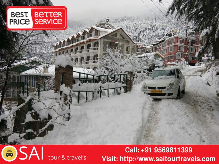 Hire #Taxi From #Chandigarh to #Shimla #Manali at lowest prices #Mohali #Kharar Book Now: http://www.saitourtravels.com