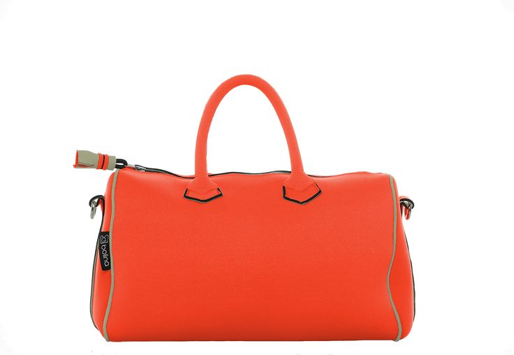 sunrise bag orange and bison beige