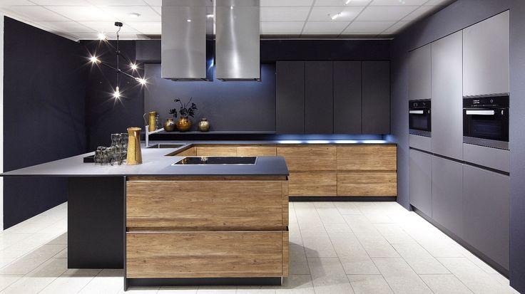 16 best projets essayer images on pinterest projects cuisine design and modern kitchens. Black Bedroom Furniture Sets. Home Design Ideas