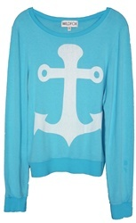 Wildfox Couture Cruise Boat Baggy Beach Jumper