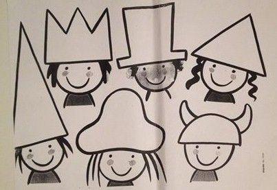 Vormenspel gekke hoeden