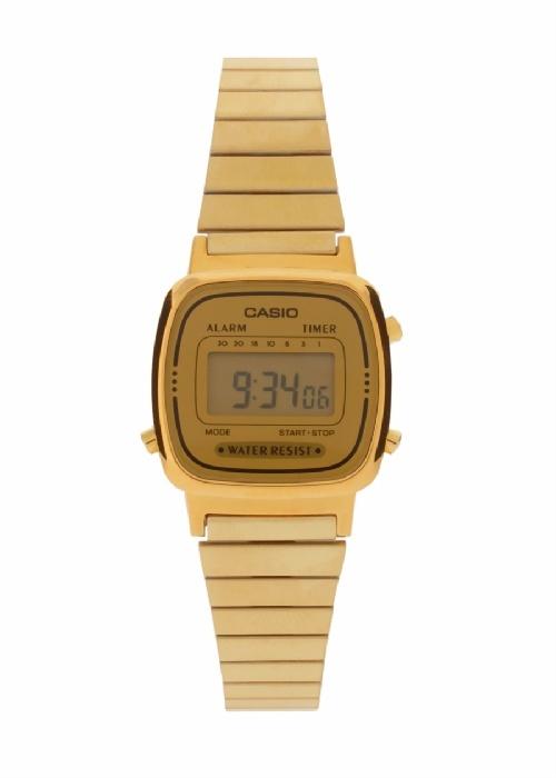 Casio Retro Gold vía Ohmylove Bazar
