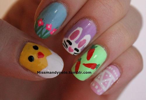 My Easter nails! - virtual3daudio.com