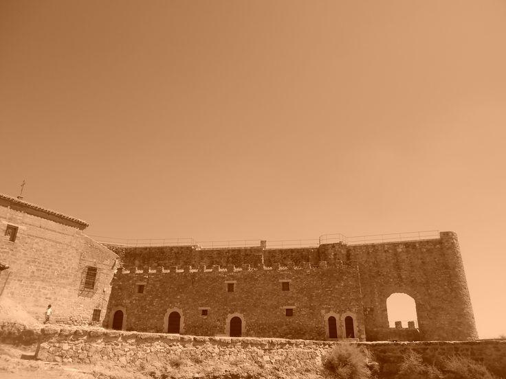 Lagunas de Ruidera, Ciudad Real. Castillo de Peñarroya.