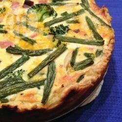 Hartige taart met beenham en broccoli @ allrecipes.nl