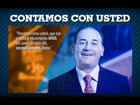 MIRA cuenta con usted