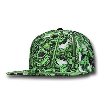 teenage mutant ninja turtle baseball hat turtles caps