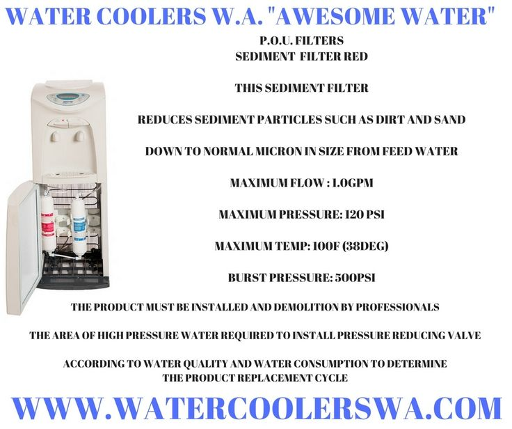 FILTERED WATER - AWESOME WATER