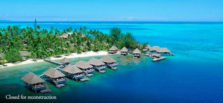 Hotel Bora Bora - Luxury beach resort Tahiti - closed for reconstruction