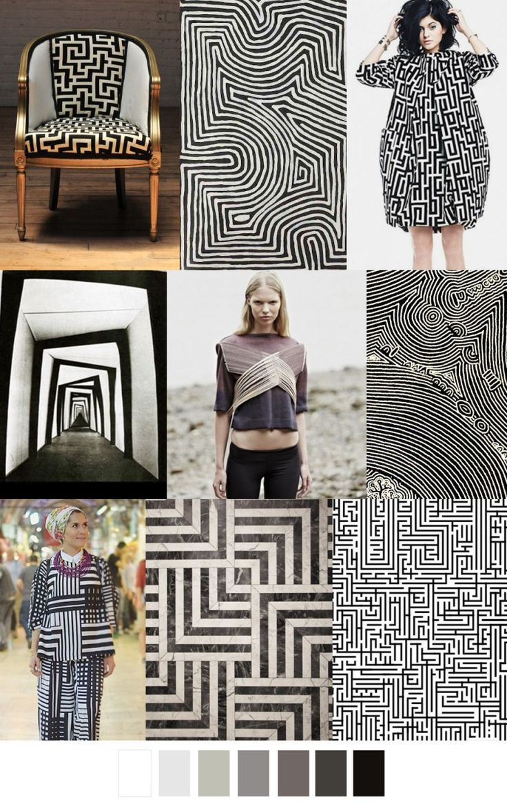 F/W 2017-18 pattern & colors trends: A-MAZE-MENT | Fashion ...