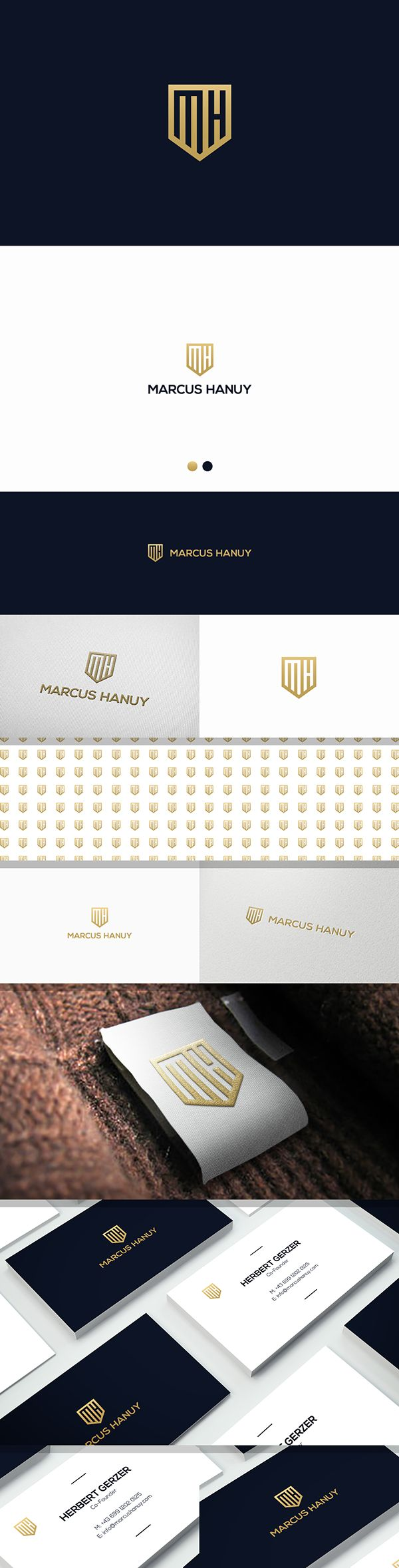 Logo design for international urban luxury fashion... on Behance