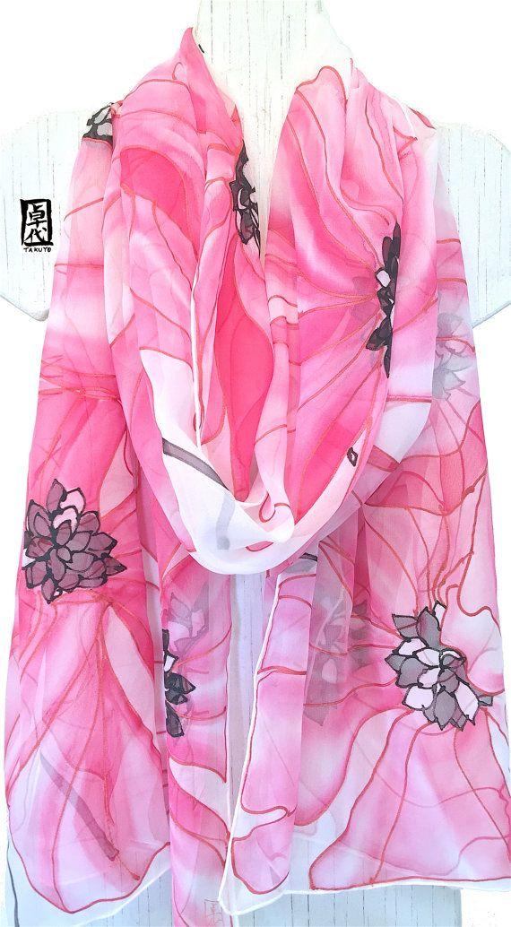 Bridal Silk Scarf Bridal Chiffon Shawl Wrap oversized Scarf