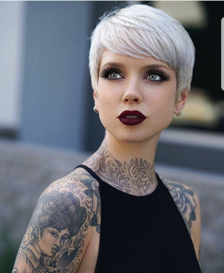 "26.5k Likes, 220 Comments - Short Hair DontCare PixieCut (@nothingbutpixies) on Instagram: ""Keeping this Tag going!!! #pixieswithINK @saraontheinternet. How many tattoo do you have?!"""