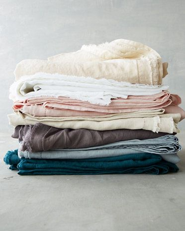 from $128, garnethill.com This top-rated mix-and-match collection of linens have a pre-washed softness, as if you already took a tumble into the sheets before even stepping in. The artfully frayed edges only add to the easy look, though you'll feel like royalty upon your first night's sleep.  - BestProducts.com