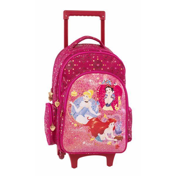 Princess Σχολική Τσάντα Δημοτικού Trolley