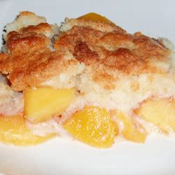 Easy Peach Cobbler Allrecipes.com: Desserts, Cakes Mixed, Peaches Cobbler Recipes, Easy Peach Cobbler, Cake Mixes, Cream Cheese, Easy Peaches Cobbler, White Cakes, Peach Cobblers