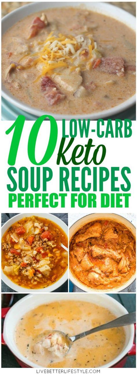 10 Delicious Low Carb Keto Soup Recipes Low carb soup