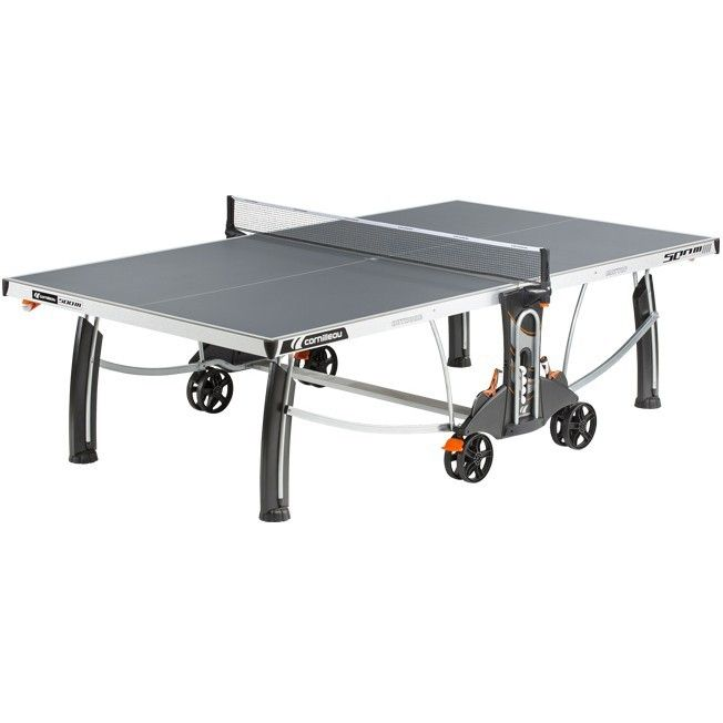 Cornilleau Outdoor Performance 500M Outdoor Table Tennis. Easy to move around, easy to play on and perfect for summertime, outdoor matches