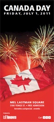 Canada Day in Toronto's Mel Lastman Square. Music, fireworks and more! For more Toronto events and things to do in Ontario: http://www.summerfunguide.ca/1/4/greater-toronto-area/festivals-events-shows.html #summer #fun #ontario #canadaday #toronto #gta