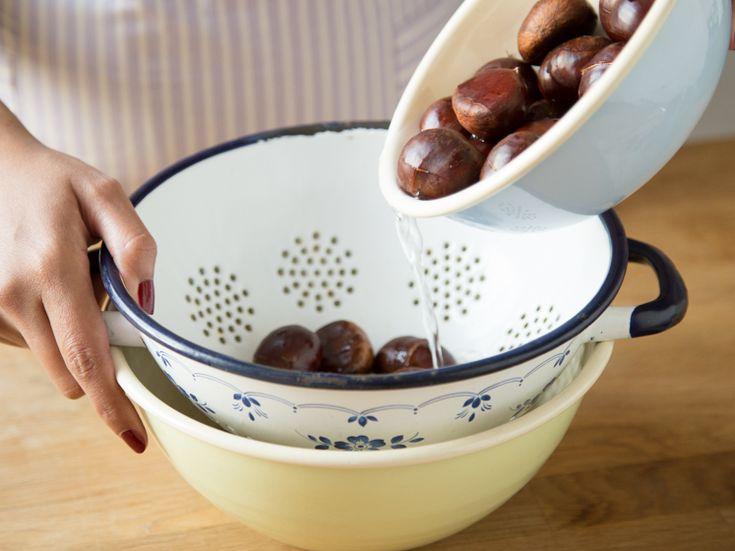 Maronen im Ofen rösten - So wird's gemacht