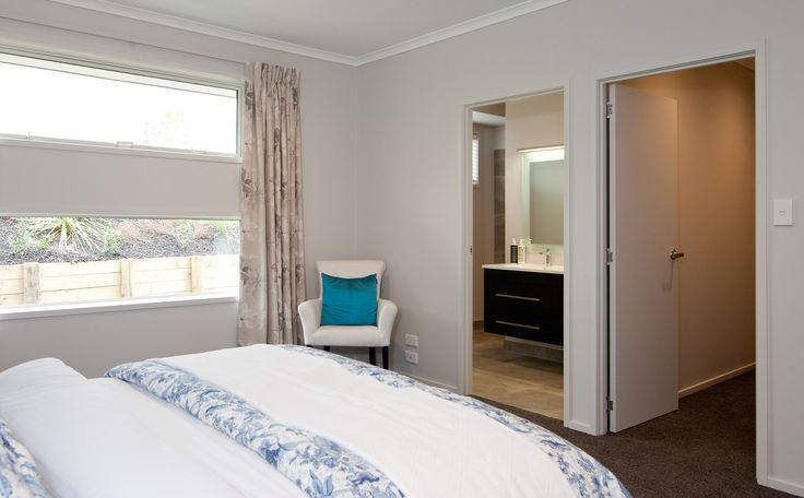 Your walk-in-wardrobe and ensuite bathroom | Master Bedroom | G.J. Gardner Homes NZ