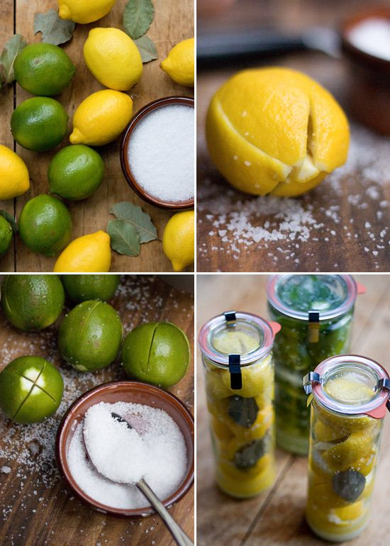 how to make moroccan preserved lemons recipe