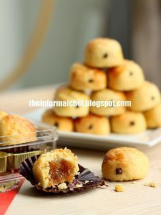 the informal chef chinese new year cookies delicious melt in mouth pineapple tart - Chinese New Year Desserts