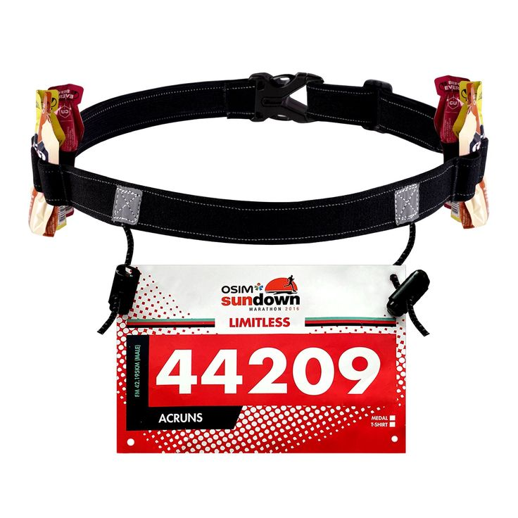Maacool Race Number Belt ( 6 Gel Loops ) for Triathlon,Marathon,Running,Cycling. Soft and Comfortable,excellent elasticity,can be extended to its double length and back to original status without damage. Adjustable.Fits different sizes of bodies. Professionally made for sports like triathlon, long-distance race,cycling. Six gel loops design,perfect for energy gels storing,easy to use. Convenient enough to be recognized in the dark with a light-reflective sign.