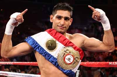 "Amir Khan (born 8 December 1986) is a British professional boxer and two-time former world champion, having held the unified WBA and IBF light-welterweight titles. He currently holds the WBC Silver welterweight title, and has fought at three weight classes: lightweight, light-welterweight, and welterweight. Khan is the youngest British Olympic boxing medalist, winning silver at … Continue reading ""Amir Khan"""