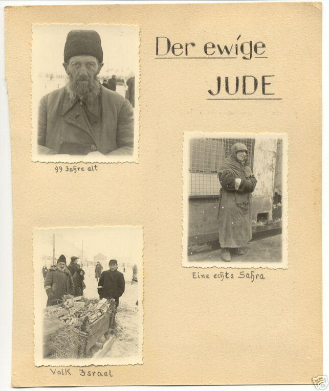 Der Ewige Jude....anti-semitism in nazi germany
