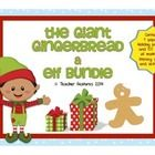 **SAVE 30% by purchasing this bundle, instead of individually. The Giant Gingerbread & Elf Bundle contains 4 popular Holiday products and 100 p...