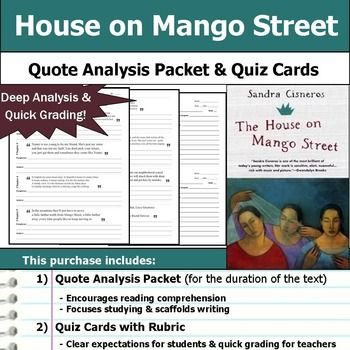 an analysis of the house on mango street Plot overview and analysis written by an experienced literary critic  the house  on mango street is a novel made up of relatively short vignettes that, at times,.