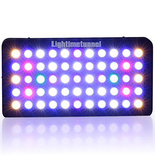 165W LED Aquarium Plant Light Full spectrum Dimmable LPS SPS Coral Reef Fish Tank Lighting ** Learn more by visiting the image link.