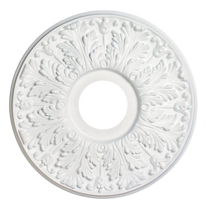 "16"" Victorian Molded Plastic Ceiling Medallion - Lighting Supply Group"