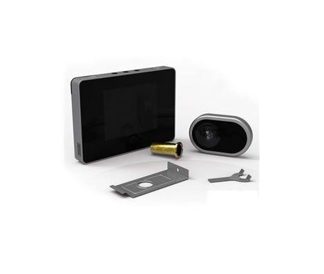 """Mirilla digital emd35 En la tienda Manivelas Online destacamos sobre otras empresas por especializarnos en todo tipo de productos relacionados con el hogar pero además llevamos un tiempo vendiendo un producto que poco a poco se está consolidando en este tipo de mercado, """"las mirillas digitales""""."""
