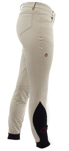 Cavalleria Toscana five pocket breeches in beige