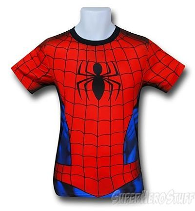 Spiderman Fitness T-shirt - Sublimated Costume