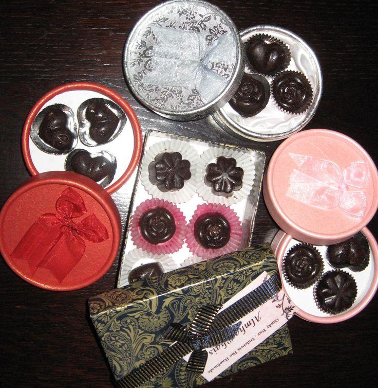 ~ Raw Chocolate Candies ~Almha Rhais