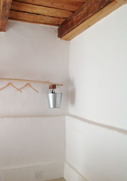 Simplistic Bedroom Interior at the Waenhuis - Letterhuis Guestfarm
