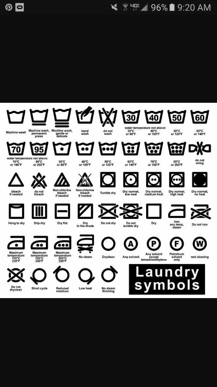 Best 25 laundry care symbols ideas on pinterest laundry symbols read our guide to help you understand the most common care label symbols buycottarizona
